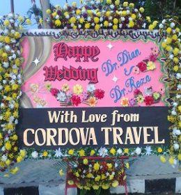 """""""contoh papan bunga pernikahan di medan"""""""