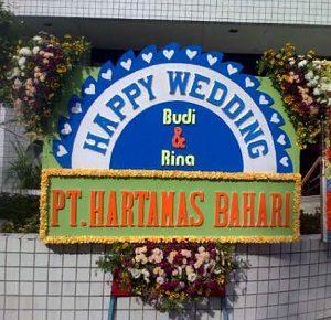 """""""papan bunga pernikahan medan"""""""
